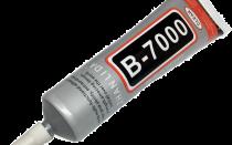Клеим тачскрин с помощью B-7000 клея