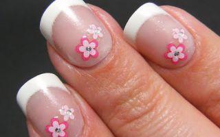 Как самостоятельно клеить наклейки на ногти (видео)