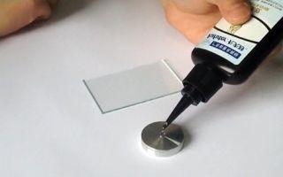 Как склеивать такие материалы как стекло и металл