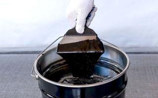 Как использовать битумно полимерную мастику