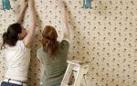Как самостоятельно наклеить метровые обои (видео)