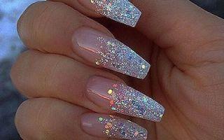 Как красиво наклеить ногти (видео)