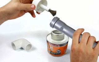 Каким клеем клеить пластиковые трубы