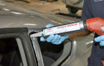 Какой выбрать клей для автомобильного стекла