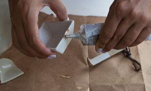 Способы склейки керамики и фарфора
