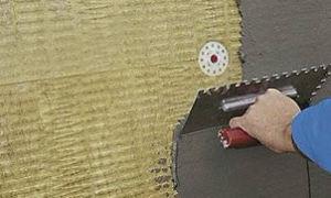 Подбор клея и инструментов для фасадной сетки