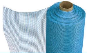 Пластиковая фасадная сетка