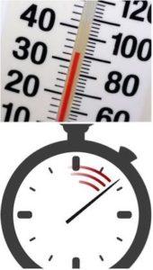 Быстро затвердевает при высокой температуре